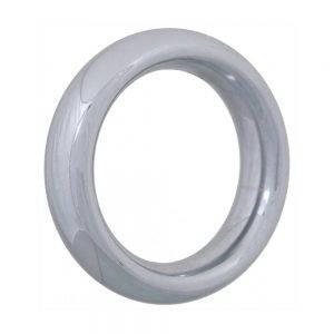 Chrome Donut Ring 45 mm. BONERRINGS (Chromed) steel Ignite