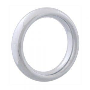 Chrome Donut Ring 50 mm. BONERRINGS (Chromed) steel Ignite