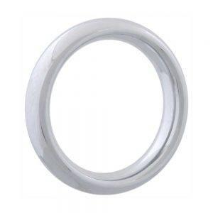 Chrome Donut Ring 55 mm. BONERRINGS (Chromed) steel Ignite