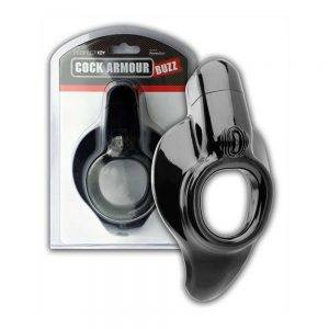 Cock Armour Buzz - Black [D] BONERRINGS TPE | TPR Perfect Fit Brand