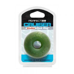 Fat Boy SilaSkin Cruiser Ring - Green BONERRINGS TPE | TPR Perfect Fit Brand
