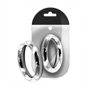 Stainless Steel Donut Ring 40 mm. BONERRINGS Stainless Steel Black Label
