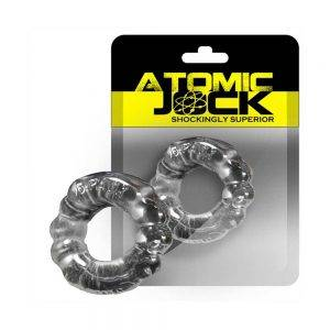 [TPR] The 6-Pack Cockring Super Stretchy Clear BONERRINGS TPE | TPR Oxballs