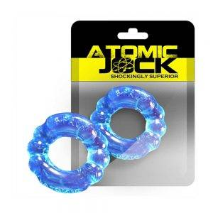 [TPR] The 6-Pack Cockring Super Stretchy Ice Blue BONERRINGS TPE | TPR Oxballs