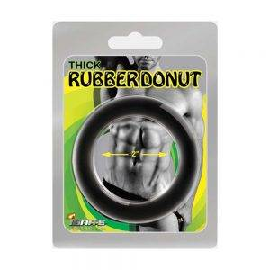 Thick Rubber Donut Ring - 57 mm. (2.25 inch) BONERRINGS Rubber Ignite