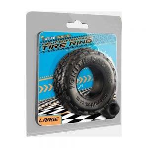 Tire Ring - Black - Large BONERRINGS TPE | TPR Ignite