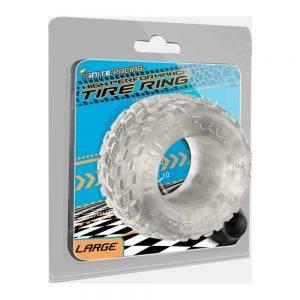 Tire Ring - Smoke - Large BONERRINGS TPE | TPR Ignite
